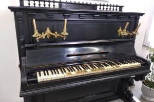 Винницкие музейщики планируют за грантовые стредства реставрировать пианино Леонтовича