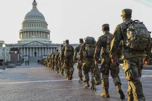 Бойцов Нацгвардии попросили еще два месяца охранять Капитолий - СМИ