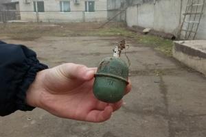 У Миколаєві на території котельні знайшли навчальні гранати