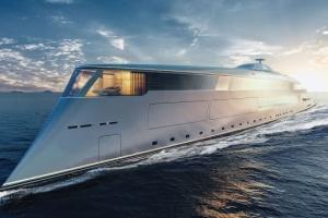 Эко-яхта Sinot Aqua как высокотехнологичное произведение искусства