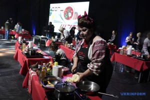 На фестивале украинского борща установили кулинарный рекорд