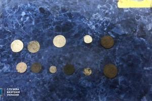 СБУ предотвратила контрабанду старинных монет более чем на миллион