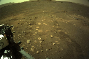 Ровер Perseverance впервые проехался по поверхности Марса