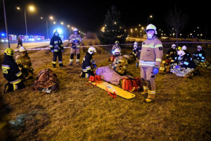 МИД назвало предварительную причину аварии автобуса в Польше