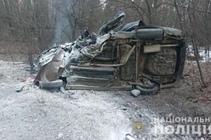 Під Києвом зіткнулися Renault і Chevrolet - є загиблі й травмовані