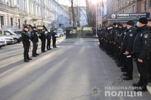 У зону ООС вирушив зведений загін київських поліцейських