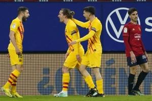 «Барселона» обіграла «Осасуну» і вийшла на друге місце Ла Ліги