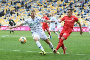 «Динамо» разгромило «Минай» в матче футбольной Премьер-лиги