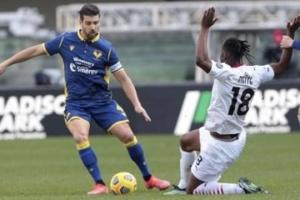 Серия А: «Милан» без проблем побеждает «Верону»