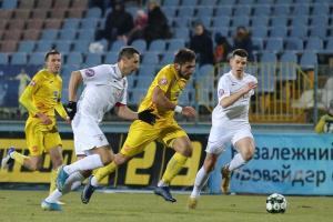 «Інгулець» і «Колос» поділили очки у матчі чемпіонату України з футболу