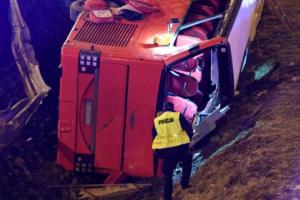 Автокатастрофа у Польщі: водію автобуса висунули обвинувачення