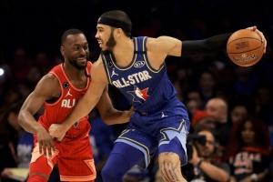 Матч всех звезд НБА. Команда Леброна выиграла у команды Дюранта