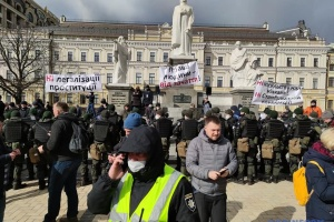 Марш жінок у Києві вимагав ратифікувати Стамбульську конвенцію
