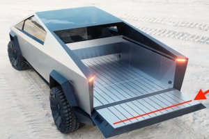 Tesla готовит обновленную версию бронированного Cybertruck