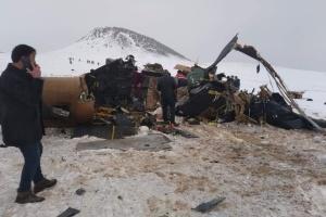 Гибель военных в Турции: перед аварией вертолет попал в облако