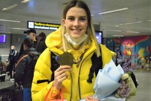Чемпіонки Європи Магучіх і Бех-Романчук повернулися додому