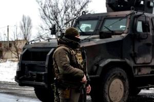 Okupanci ostrzelali pozycje Sił Zbrojnych Ukrainy w pobliżu Majorska z zabronionych moździerzy