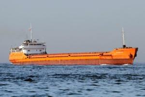 Dry cargo ship with Ukrainians sinks off Romania