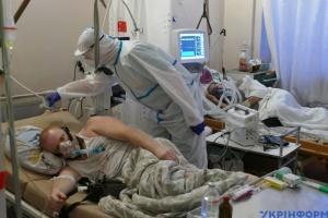 Na Ukrainie zarejestrowano 13276 nowych przypadków COVID-19