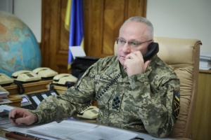 Хомчак обговорив з головнокомандувачем ЗС Естонії поточну ситуацію в районі ООС