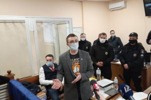 Стерненко не з'явився до Приморського суду Одеси, бо ходив в інший