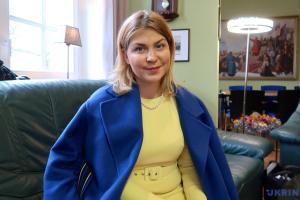 Стефанишина: Украина ожидает усиления санкций против России в случае эскалации на Востоке
