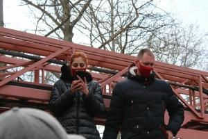 Kyiv: incendie dans un restaurant