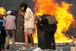 У М'янмі силовики за добу вбили понад 80 протестувальників