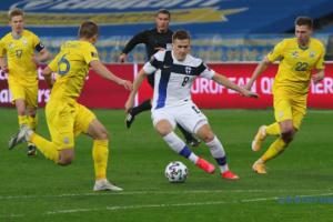 Reprezentacja Ukrainy nie utrzymała zwycięstwa w meczu z Finlandią w kwalifikacjach do mistrzostw świata 2022