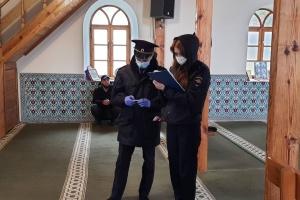 Полиция и ФСБ пришли в крымскую мечеть «в рамках противодействия экстремизму»