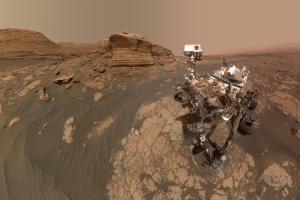 Perseverance вперше в історії зняв на камеру політ іншого апарата-дослідника Марса