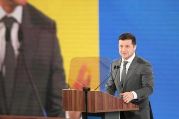 """Selenskyj verspricht Gerichte """"in Übereinstimmung mit dem Buchstaben des Gesetzes und nicht mit Summe im Briefumschlag"""""""