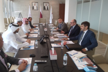 Senik meets with Qatari partners to discuss Olvia Port concession
