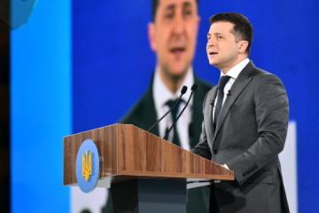 """Zelensky inaugura el foro """"Ucrania 30. Desarrollo de la justicia"""""""