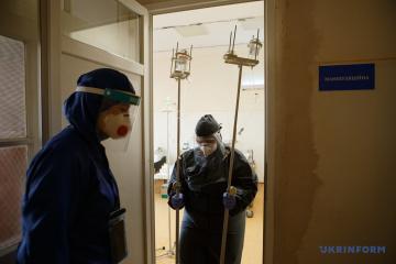 3月10日時点 ウクライナ国内新型コロナ新規確認数6377件