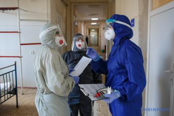 Die Ukraine meldet 8.710 neue Corona-Fälle