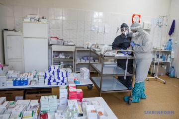 4月5日時点 ウクライナ国内新型コロナ新規確認数 10179件