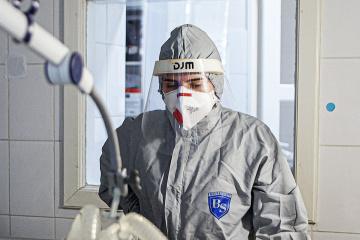 Coronavirus : 17 424 cas supplémentaires recensés en Ukraine en 24 h
