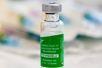 Präsident Selenskyj lässt sich gegen Corona impfen
