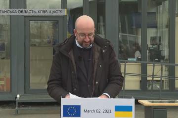 Michel: La UE seguirá siendo siempre un socio fiable de Ucrania