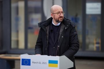 ロシアはドンバス紛争の一部であり、仲介者ではない=ミシェル欧州理事会議長