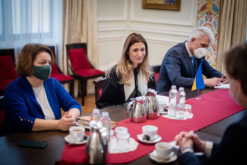 Dzheppar meets with new head of Council of Europe Office in Ukraine