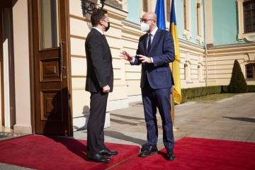 Ukraine appreciates comprehensive assistance from EU - Zelensky