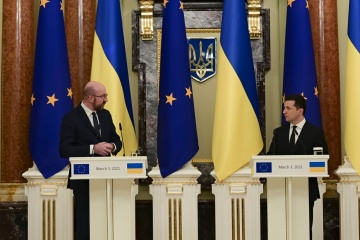 Zelensky calls on EU to impose sanctions over human rights violations in occupied Crimea