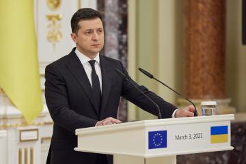Zelensky: Ukraine seeks greater integration into EU's internal market