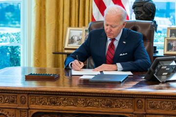 Biden przedłużył sankcje wobec Rosji za agresję na Ukrainę