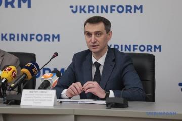 Lyashko anuncia la creación de medicamentos COVID innovadores en Ucrania