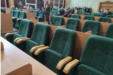 Слов'янськ залишається без бюджету - сесія міськради знову не відбулася