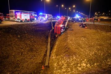 Six Ukrainiens sont morts dans un accident de bus Poznan-Kherson en Pologne