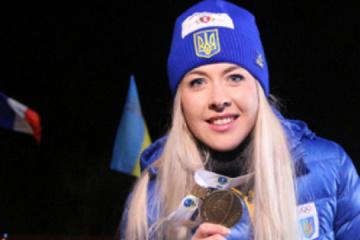 Yuliia Dzhima gana la plata en el sprint de la Copa del Mundo de Biatlón